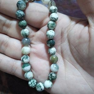 "Tree Agate ""Pathway Opener"" Stretchy Bracelet"